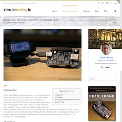 Voir les commentaires !! beaglebone black streaming video tutorial and custom LibVLC player
