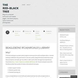 Beaglebone RF24(nRF24L01) Library
