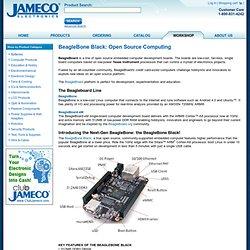 BeagleBone Black: Open Source Computing
