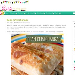 Bean Chimichangas