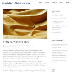 Bean Bags in the LMS – OFFICE OF DIGITAL LEARNING