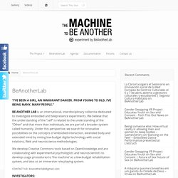 The Machine to be Another