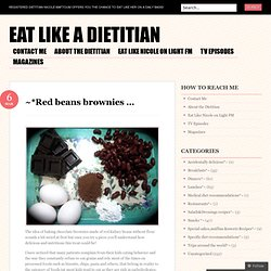 Eat like a Dietitian