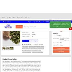 Beans - Organic Beans