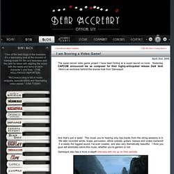 Bear McCreary – Official site