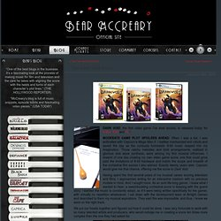 Bear McCreary – Official site