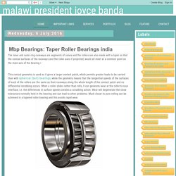 Mbp Bearings: Taper Roller Bearings india