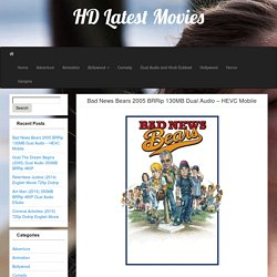 Bad News Bears 2005 BRRip 130MB Dual Audio – HEVC Mobile