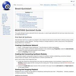 Beast Quickstart