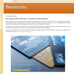 Beastroids: Buy Steroids With Credit Card – Develop Your Muscle Better