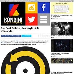 Sur Beat Delete, des vinyles à la demande