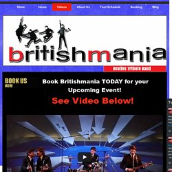 Beatles Tribute Band Videos