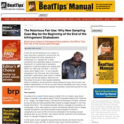 BeatTips: Beatmaking, Making Beats, Hip Hop Production, Hip Hop/Rap Music, Recording Music, Home Recording, Music Education, Music Business, and Music History