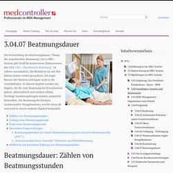 3.04.07 Beatmungsdauer - Medcontroller