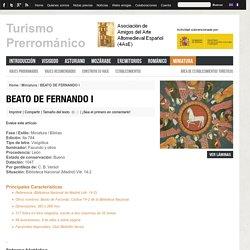 BEATO DE FERNANDO I