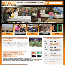 Beatrice Public Schools - Write Tools
