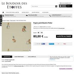 Papier peint Beatrix Potter - Enfants/Papiers peints - Le Boudoir des Etoffes