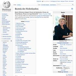 Beatrix der Nederlanden