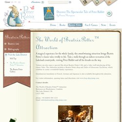 The World of Beatrix Potter™ Attraction - The World of Beatrix Potter - Peter Rabbit