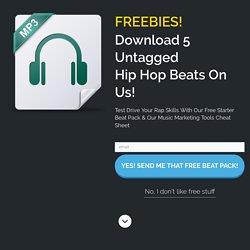 Hip Hop Beats {Rap Beat Leases From $17.95 & Free Rap Beat Downloads}