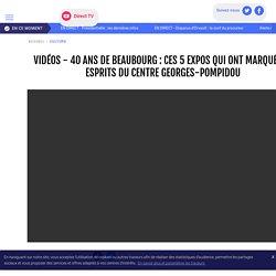 VIDÉOS - 40 ans de Beaubourg : ces 5 expos qui ont marqué les esprits du centre Georges-Pompidou - LCI