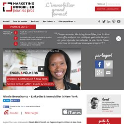 Nicole BEAUCHAMP : Linkedin & Immobilier à New York