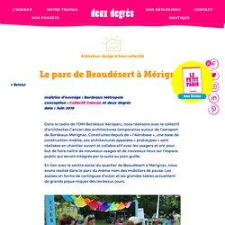 Le parc de Beaudésert à Mérignac - deux degrés