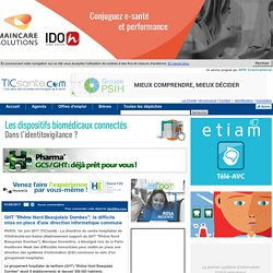 """GHT """"Rhône Nord Beaujolais Dombes"""": la difficile mise en place d'une direction informatique commune"""
