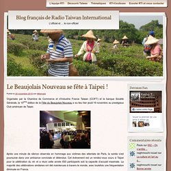 Blog français de Radio Taiwan International