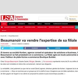 Beaumanoir va vendre l'expertise de sa filiale... - Marché Multimédia