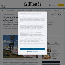 Le groupe Beaumanoir reprend 40% des salariés de La Halle