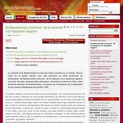 De Beaumarchais à Internet : de la calomnie à l'e-réputation négative