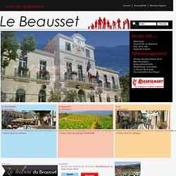 Le Beausset : site officiel de la commune (Var, PACA, France)
