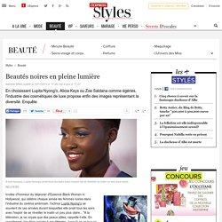 Lupita Nyong'o, Alicia Keys: beautés noires et cosmétiques