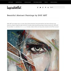 Beautiful Abstract Paintings by DOC ART