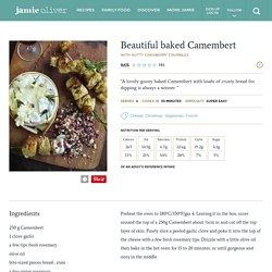 Beautiful Baked Camembert