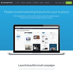 Design beautiful emails | Campaign Monitor - CometBird