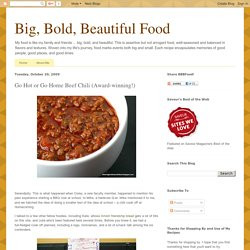 Go Hot or Go Home Beef Chili (Award-winning!)
