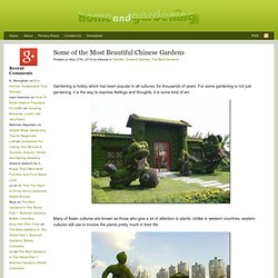 Some of the Most Beautiful Chinese Gardens | Home and Gardening