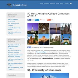 50 Most Beautiful Colleges