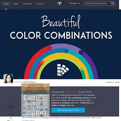 50 Beautiful Color Combinations (And How to Apply Them to Your Designs)