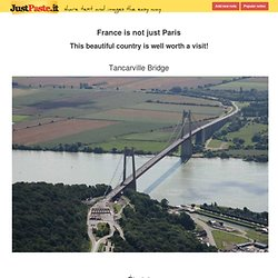 France is not just Paris