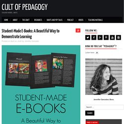 Student-Made E-Books: A Beautiful Way to Demonstrate Learning