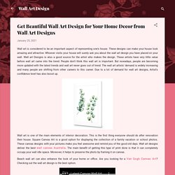 Get Beautiful Wall Art Design for Your Home Decor from Wall Art Designs