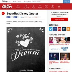 Beautiful Disney Quotes