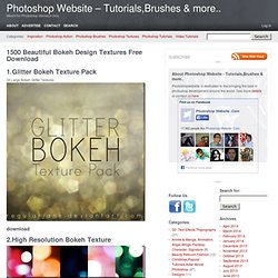 1500 Beautiful Bokeh Design Textures Free Download