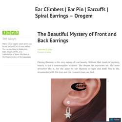 Front and Back Illusion Earrings – Orogem