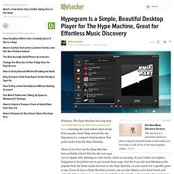 Hypegram - Effortless Music Discovery