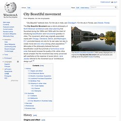 City Beautiful movement