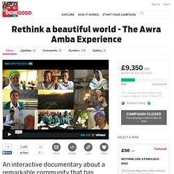 Rethink a beautiful world - The Awra Amba Experience